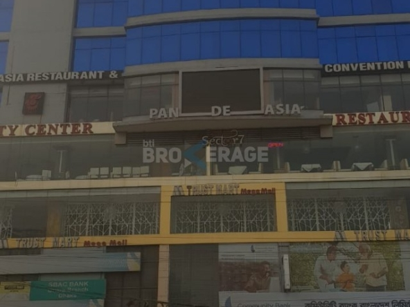 4000 sft commercial space for rent in uttara 6th floor 031948
