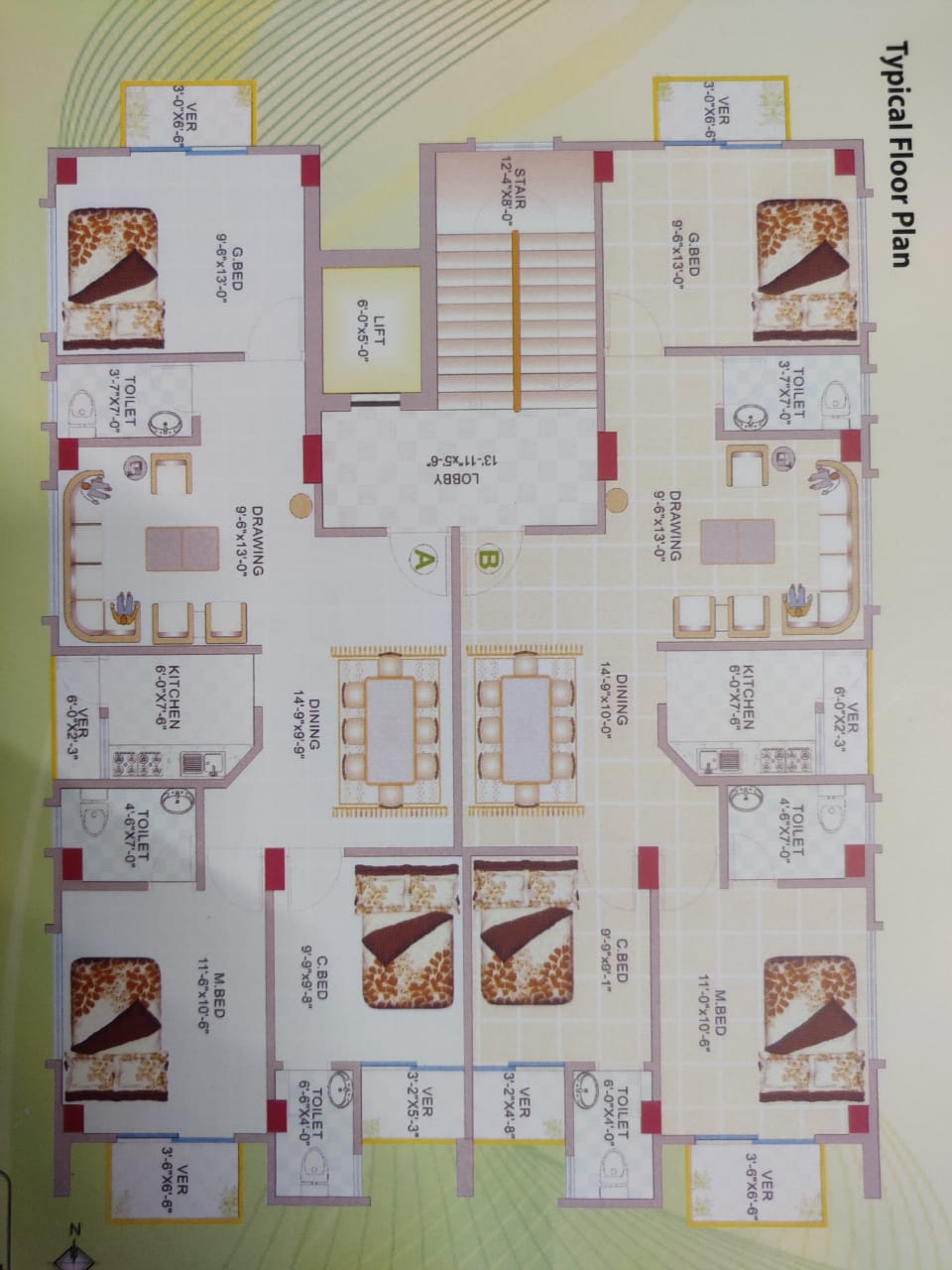 2300-sft-apartment-for-sale-at-bashundhara-6th-floor-269525
