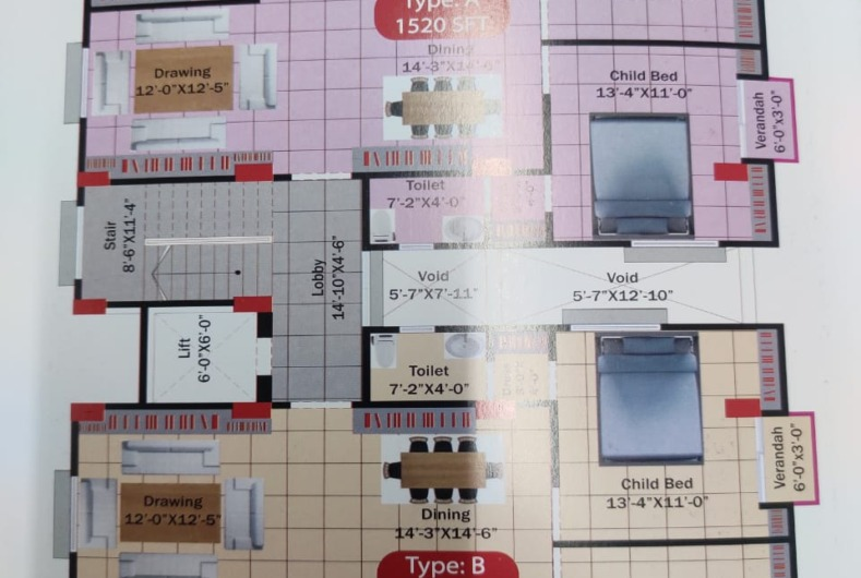 1510-sft-apartment-for-sale-at-bashundhara-h-block-1st-floor-255042